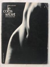 Le corps secret - Couverture - Format classique