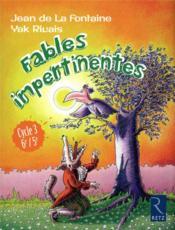 Fables impertinentes ; cycle 3 ; 6e, 5e - Couverture - Format classique