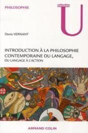 Introduction à la philosophie contemporaine du langage ; du langage à l'action - Couverture - Format classique