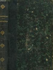 Marianna - Couverture - Format classique