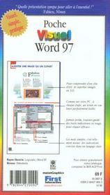 Word 97 Poche Visuel - 4ème de couverture - Format classique