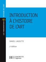 Introduction à l'histoire de l'art - Couverture - Format classique