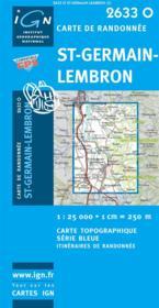 Saint-Germain-Lembron - Couverture - Format classique