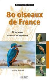 80 oiseaux de France - Couverture - Format classique