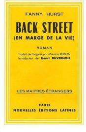 Back street (en marge de la vie) - Couverture - Format classique