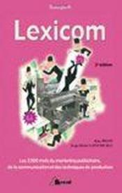 Lexicom - Couverture - Format classique