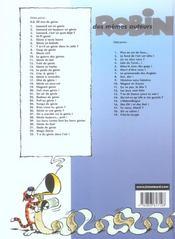 Léonard t.14 ; le poids du génie - 4ème de couverture - Format classique