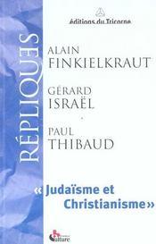 Judaïsme et christianisme - Intérieur - Format classique