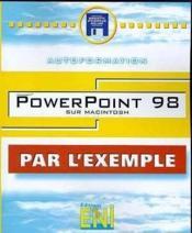 Powerpoint 98 sur macintosh (par l'exemple) - Couverture - Format classique