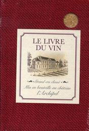 Le livre du vin - Intérieur - Format classique