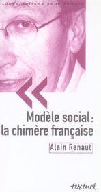 Modèle social : la chimère française - Intérieur - Format classique