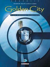 Golden city t.5 ; le dossier harrison - Intérieur - Format classique