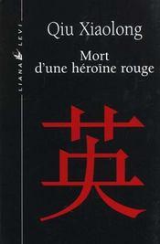 Mort D'Une Heroine Rouge - Intérieur - Format classique