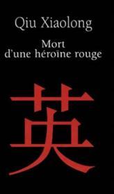 Mort D'Une Heroine Rouge - Couverture - Format classique