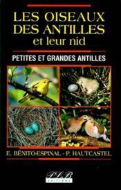 Les oiseaux des antilles et leurs nids - Couverture - Format classique