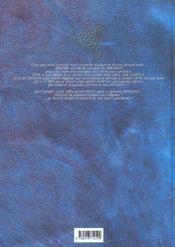 Les prophéties Elween T.3 ; Shadrin - 4ème de couverture - Format classique