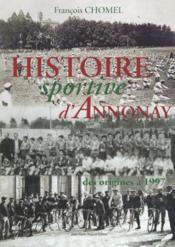 L'histoire sportive d'annonay - Couverture - Format classique