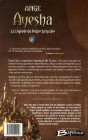 Ayesha, la légende du peuple turquoise ; intégrale - 4ème de couverture - Format classique