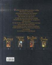 La flèche noire - 4ème de couverture - Format classique
