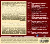 L'anthologie sonore - 4ème de couverture - Format classique