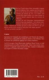 Le roman de Longin ; l'homme qui perça le flan du Christ - 4ème de couverture - Format classique