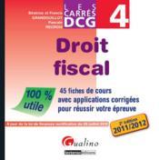 telecharger Droit fiscal (edition 2011/2012) livre PDF/ePUB en ligne gratuit