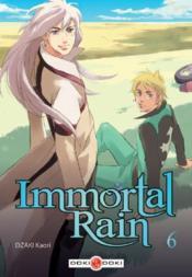 Immortal rain t.6 - Couverture - Format classique