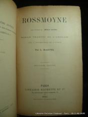 Rossmoyne - Couverture - Format classique