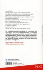 Gokan - 4ème de couverture - Format classique