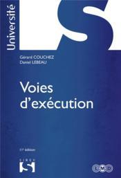 Voies d'exécution (11e édition) - Couverture - Format classique