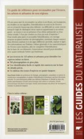 Guide des écorces des arbres d'Europe ; reconnaître et comparer les espèces - 4ème de couverture - Format classique
