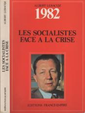 Les socialistes face à la crise - Couverture - Format classique