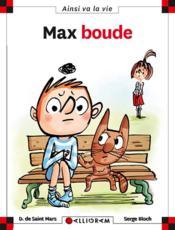 Max boude - Couverture - Format classique