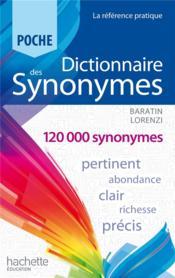 Dictionnaire des synonymes poche (édition 2013) - Couverture - Format classique