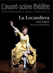 Revue L'Avant-Scene Theatre N.1344 ; La Locandiera - Couverture - Format classique
