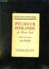 Pecheur D Islande. - Couverture - Format classique