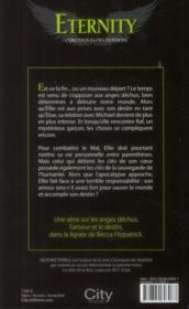 Chroniques des Nephilim t.2 ; eternity - 4ème de couverture - Format classique