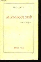 Alain-Fournier. - Couverture - Format classique