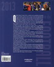 L'année du football 2013 - 4ème de couverture - Format classique