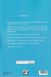 ETUDES ET DOCUMENTS BERBERES N.31 (édition 2012) - 4ème de couverture - Format classique