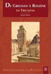 De Grignan à Bollene en Tricastin - Couverture - Format classique