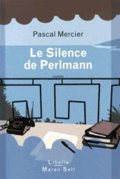 Le silence de Perlmann - Couverture - Format classique