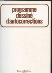 Programme Dessine D'Autocorrections - Couverture - Format classique