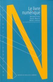 Le livre numérique - Couverture - Format classique