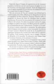 Le bouquin des dictons - 4ème de couverture - Format classique