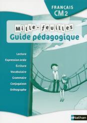 Mille-feuilles - guide pedagogique - cm2 - Couverture - Format classique