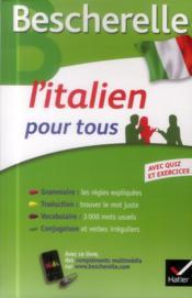 L'italien pour tous - Couverture - Format classique