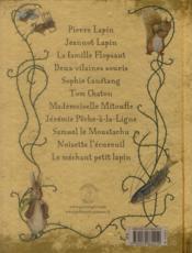 Contes de garnements et galopins ; le vilain Pierre Lapin et ses amis - 4ème de couverture - Format classique