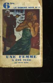 Une Femme A Ete Tuee - A Woman Is Dead - Couverture - Format classique