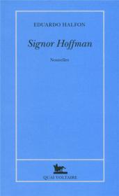 Signor Hoffman - Couverture - Format classique